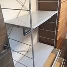 (交渉中)無印良品スチールユニットシェルフワードローブセット棚板一枚追加 − 愛知県