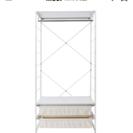 (交渉中)無印良品スチールユニットシェルフワードローブセット棚板一枚追加 - 売ります・あげます