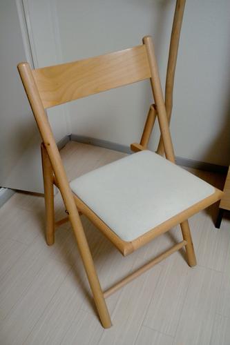 収納にMuji無印LEDドレッサーレーヴ・椅子付 ...