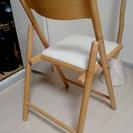 無印良品 折りたたみ椅子 廃盤品 - 宇都宮市