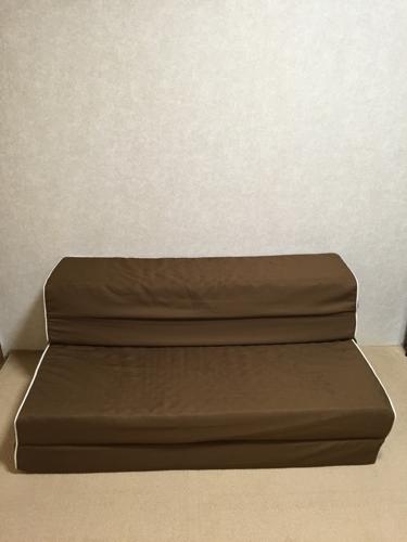 無料 ニトリ折り畳みソファベッド (まめこ) 川崎のベッド《ソファー
