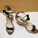 パーティにも✨華奢で足が綺麗に見えるサンダル 22センチ