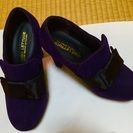SALE!紺×リボンのブーティ Sサイズ