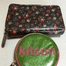 交渉中値下げ処分キットソン財布コインケースセット^_^