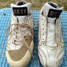 (ありがとうございました)ZETT ソフトボール用スパイク 23㎝