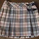 バーバリー☆定番!プリーツスカート