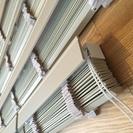 【TOSOウッドブラインド】木製・白系色・美品・3本まとめて60...