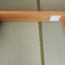 MUJI【無印の無垢材木製ベンチ幅100cm】天然オーク材の椅子 - 家具