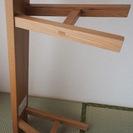 MUJI【無印の無垢材木製ベンチ幅100cm】天然オーク材の椅子 − 神奈川県