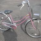 自転車 ママチャリ ピンク
