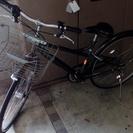 26インチ シティサイクル 6段変速 自転車
