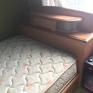 【引取り限定】木製・シングルベッド差し上げます!