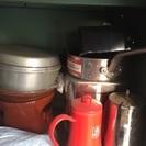 蓋付き業務用鍋、フライパン、コーヒー用ヤカン