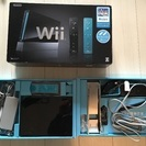 美品★Wii本体 (クロ) Wiiリモコンプラス2個、Wiiスポ...