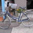 ママチャリ二年乗りました。前カゴ・手カバー付き。イオンモール武蔵村...