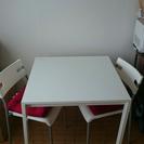 IKEA ダイニングテーブル 椅子 セット