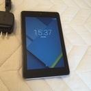 [取引中]  美品 nexus7 2012 32G wifiタイプ