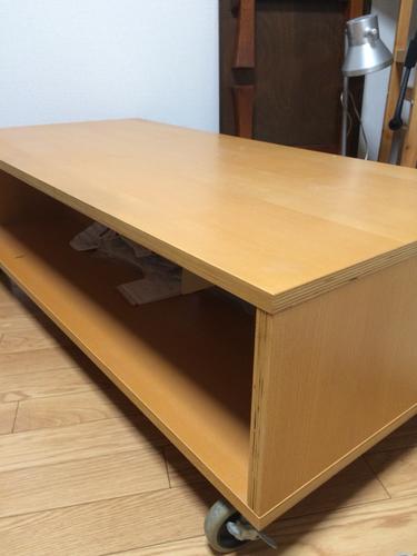 無印良品(良品計画) ローテーブル