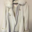 白 コート 美品