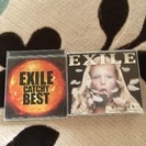 EXILEアルバム2個セット