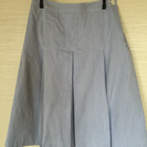 【値下げしました】SM2 水色ストライプ スカート