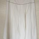 白色スカート① 春夏用