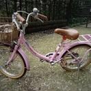 a.n.design works 18インチ ピンクの自転車