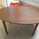 マロン型ローテーブル