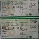4/15 ナゴヤドーム 中日VS阪神戦
