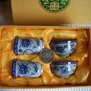 ★未使用★中国茶のお茶碗セット(4個)をお譲りします!