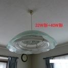NEC製ペンダント型蛍光灯(32W/40W引掛けシーリング)差し上...