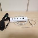 エレコム USBハブ セルフパワー・バスパワー両用 4ポー…