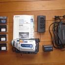 SONY ビデオカメラ Handycam 型式DCR-TRV17