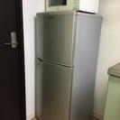 冷蔵庫と電子レンジセット