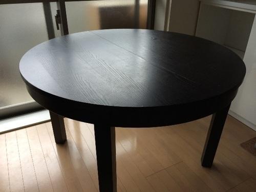 Ikea 丸型ダイニングテーブル デコポン 文京のテーブルダイニング