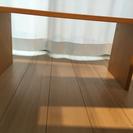 中古 無印良品 コの字の家具・積層合板・タモ材 - 家具