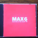 CD MAX-6 best hits in the world '99