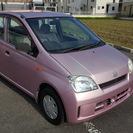 格安6万円!可愛いピンクミラ!燃費良好、禁煙車!