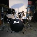ドラムセット Pearl 格安にて売ります!