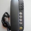 シンプル機能の電話機
