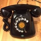 昭和37年製造、4号黒電話 美品 完動品