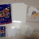 EPSON  プリンター 写真用紙 A4 判  L判