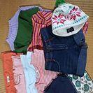 女の子・サイズ110~120お洋服(used)まとめて