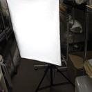 撮影機材セット フォトツール ソフトライトボックス3本 背景のホ...