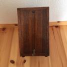 アンティーク シンプルな木製小箱