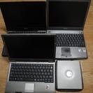 Dell D420 X1 X200 3台まとめて 起動します。