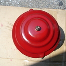 赤のコールマン286ランタン(自作メッシュグローブ)貴重美品 - 横浜市