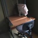 パソコンラック椅子付き使い勝手良し!
