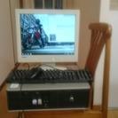 HP dc5700 モニタ・キ-ボ-ド・マウス・フルセット Wi...