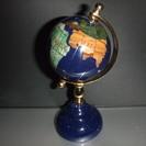 天然石ミニ地球儀